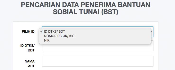 Cara Cek Data Penerima BST