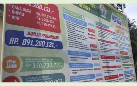 informasi publik di desa