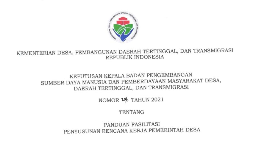 rkp desa 2022
