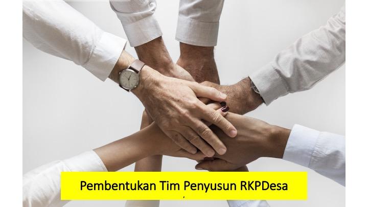 Pembentukan Tim Penyusun RKPDesa